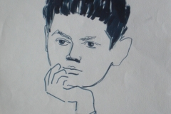 Художник-Менякин-Юрий-рисунок-сына-Ивана