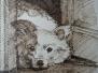 Архитектор Менякин рисует животных