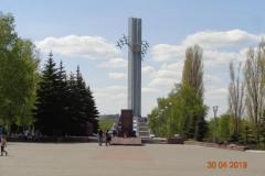 Памятник Журавли архитектора Менякина Ю.И.