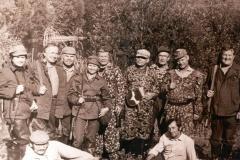 На охоте в Сокино Вознесенский, Федоров, Менякин, Умнов