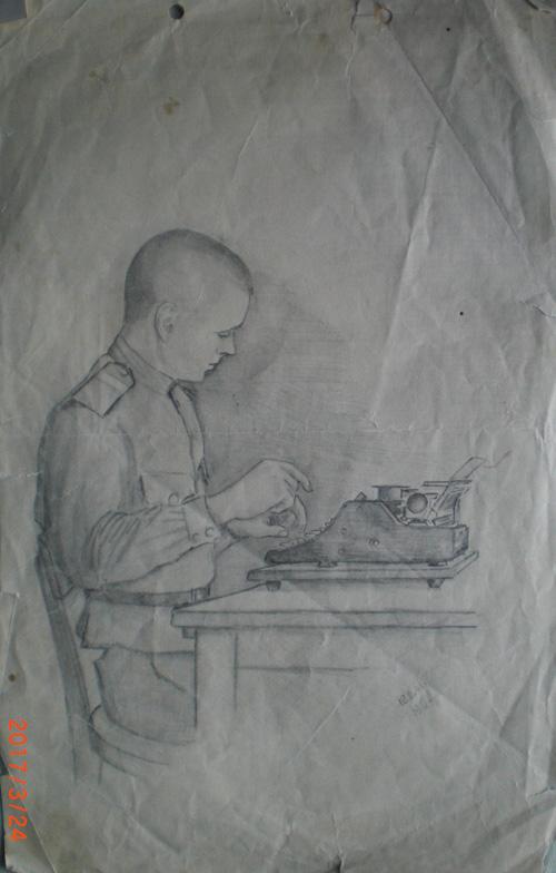 Кенигберг.-Германия.1946-год.-Рисунок-Менякина