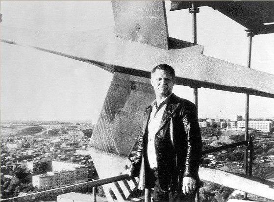 Архитектор Менякин - автор памятника Журавли 1981-1982