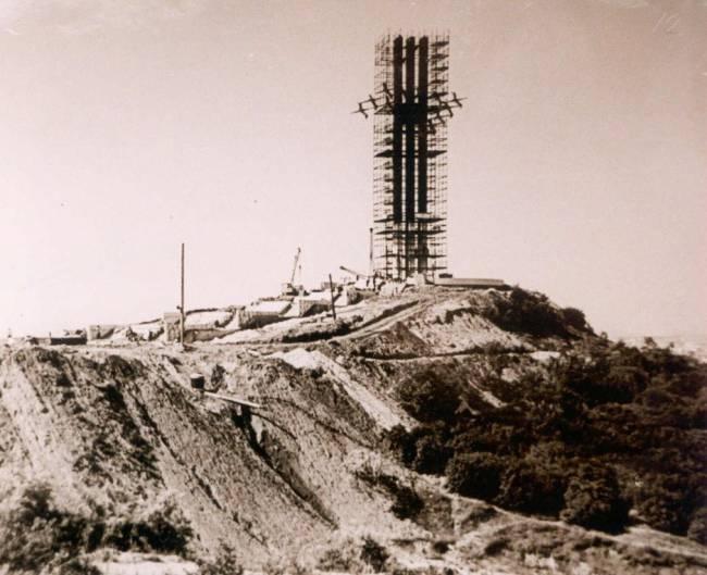 Строительства мемориала Журавли 1981