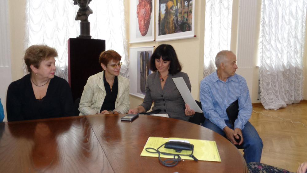 Кибалькову-105-лет. Музей Радищева.