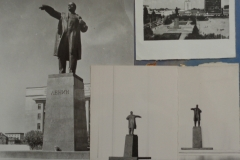 Макет памятника Ленина в Саратове