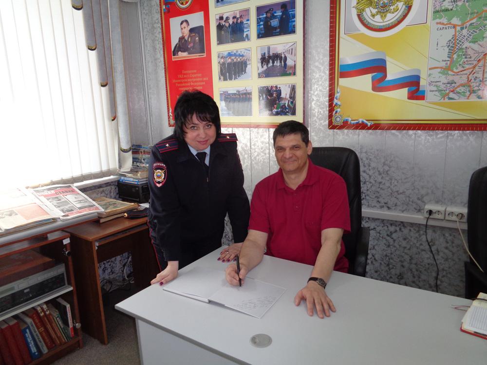 Гуляева-Ю.В.-и-Менякин-И.Ю.-в-музее-МВД