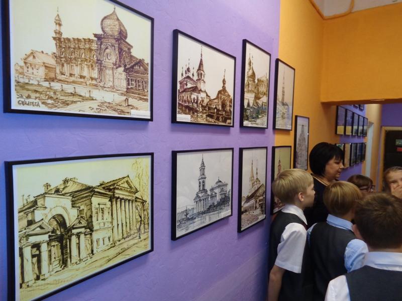 Открыт мини-музей архитектора Менякина в школе 238 Садко