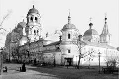 Крестовоздиженский женский монастырь. Саратов. 1903 год.