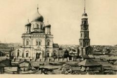 Церковь Покрова Пресвятой Богородицы и общий вид Нагорной стороны.Саратов.