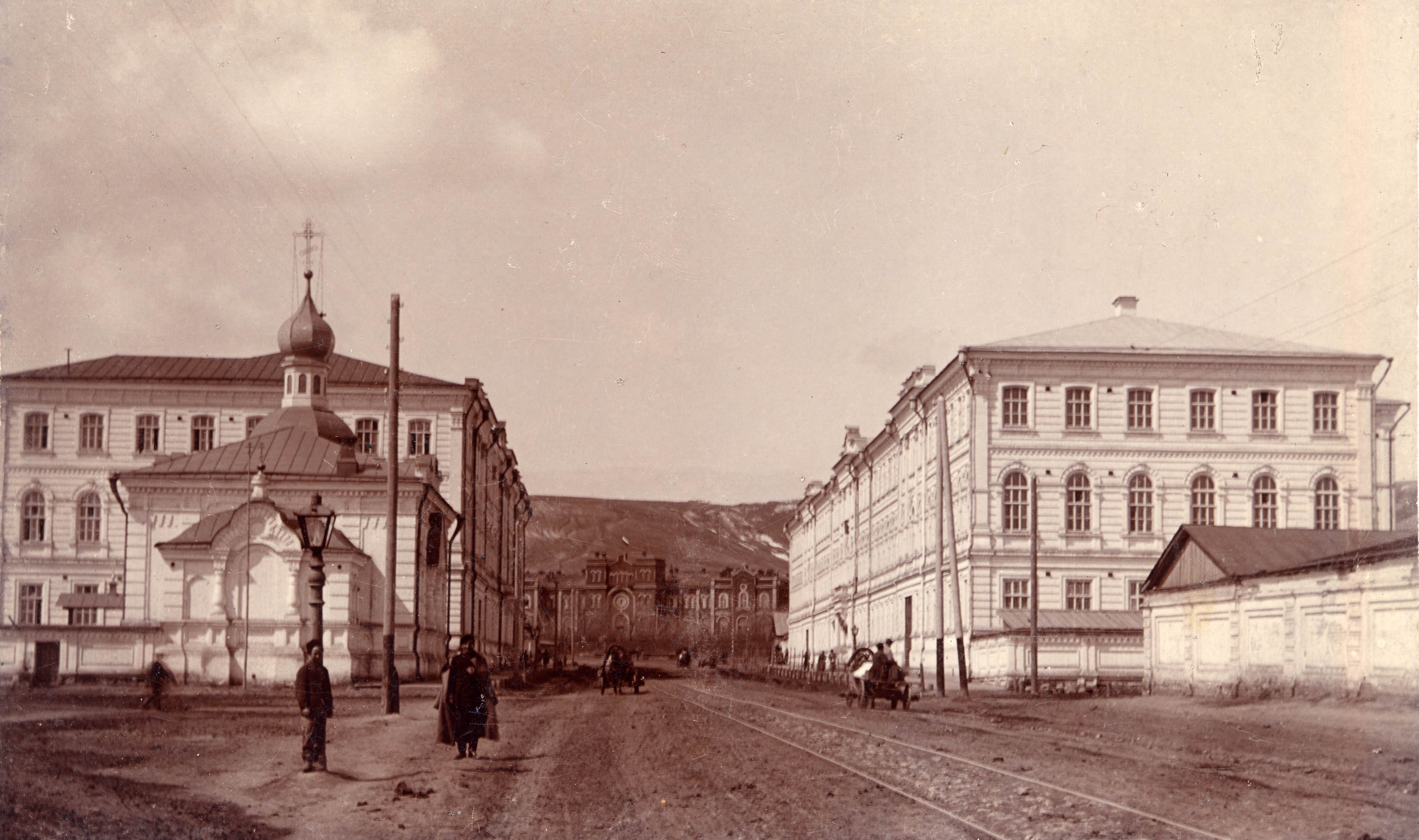 Московская и Вокзал.Старый Саратов.