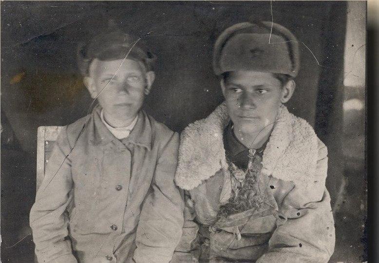 Рядовой Менякин Юрий после госпиталя 1943 год