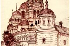 Крестовоздвиженский-женский-монастырь-Саратов-художник-Менякин