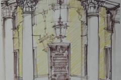 Музей-краеведения.Рисунок-архитектора-Менякина.