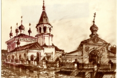 Спасо-Преображенская-единоверческая-церковь-Саратов-художник-Менякин