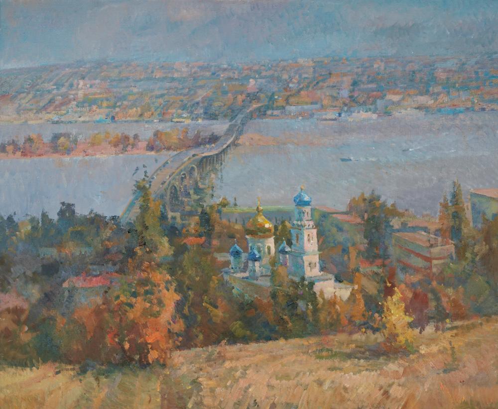 Берег-левый,-берег-правый. Художник Чечнева Н.А