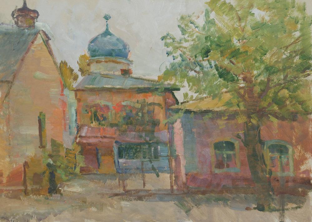 Улица-Первомайская.Староверческая-церковь.-1995г