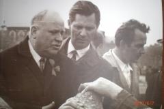 Шибаев и архитектор Менякин 1969 год Саратов
