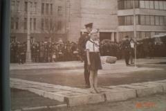 Церемония 22 апреля 1969 года площадь Революции Саратов