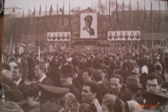 Закладка памятника Ленину 1969 год Митинг