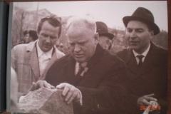 Закладка памятника Ленину 1969 год Шибаев
