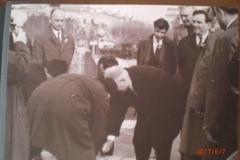 Церемония закладка памятника Ленину 1969 год