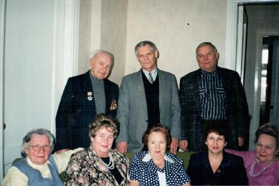 Менякин с сотрудниками управления архитектуры Саратова