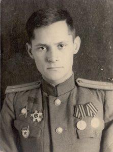 Гвардии Лейтенант Менякин Юрий Иванович