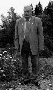 Алекей Сергеевич Уранов в Шахматове 2003 г.