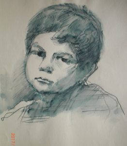 Художник-Менякин-Юрий-рисунок-сына-Ивана-3