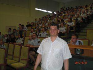 Менякин в Волгоградской академии МВД