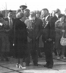 Кибальников А.П. и Менякин Ю.И. в Саратове 9 мая