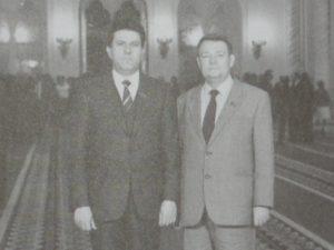 Ю.П.Кочетков и Ю.А.Мысников. 1983 год.