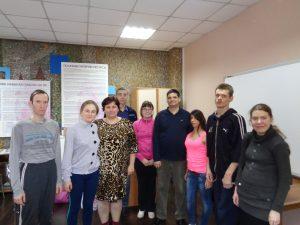 Встреча Менякина в ЦАРИ Парус
