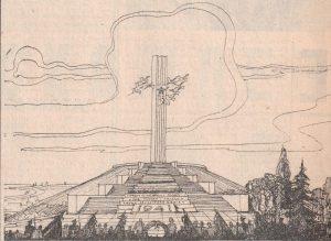 Памятник-Журавли.-Рисунок-Менякина Ю.И.