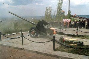 Пушка Парк Победы Саратов