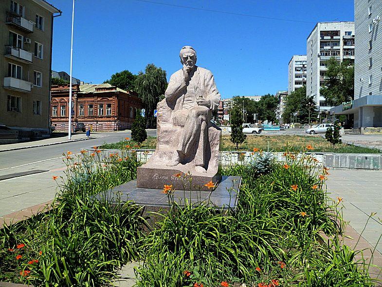 Памятник Федину