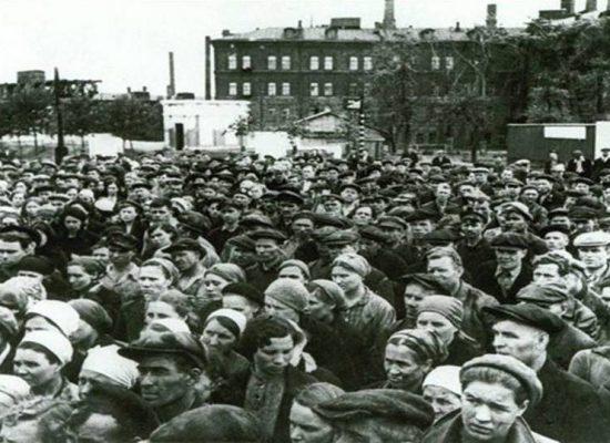 Завод Серп и Молот. Саратов. 22 июня 1941 года.